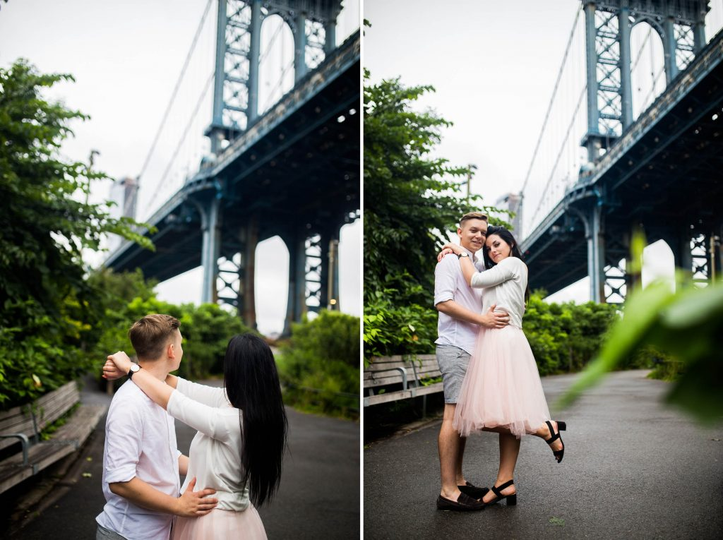 Engagement session, DUMBO